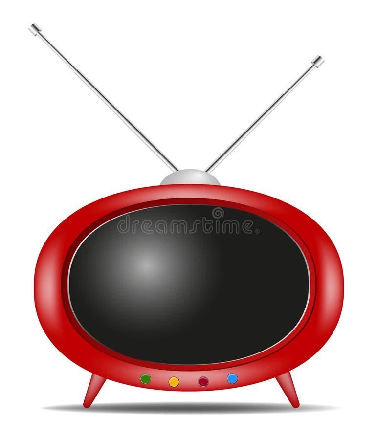 Download Retro TV stock vector. Image of antique, illustration - 22384946