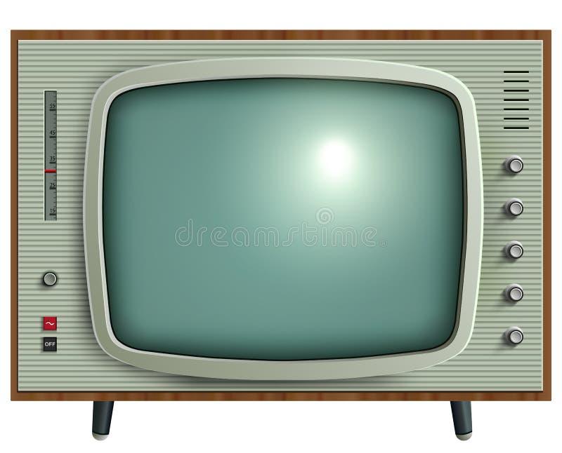 Retro TV vector illustratie