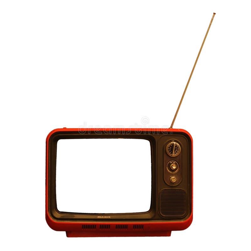 Retro TV fotografering för bildbyråer