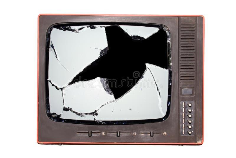 Retro TV immagini stock