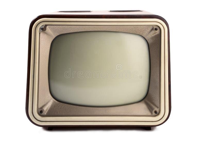 Retro TV 1960 arkivbild