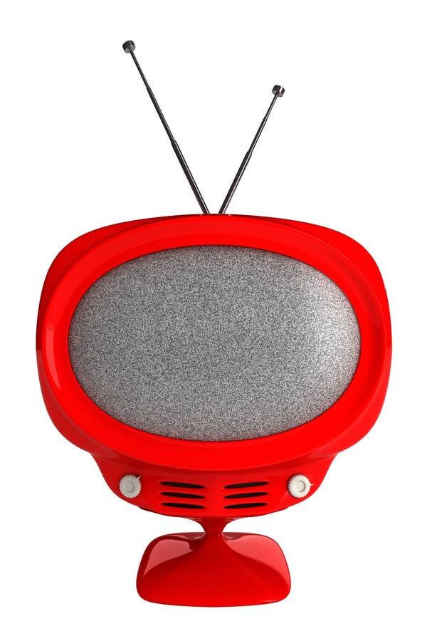 retro tv obraz royalty free