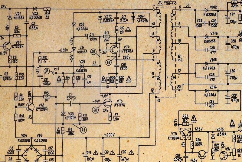 retro tv plan stock photo  image of electronic  handbook