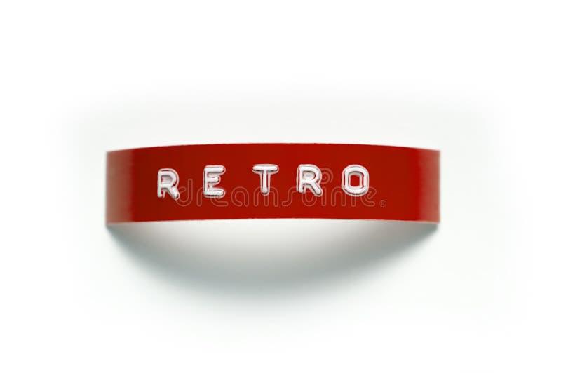 Retro Type van Stempel royalty-vrije stock afbeeldingen
