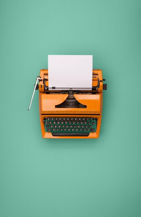 Retro typewriter royalty free stock photography