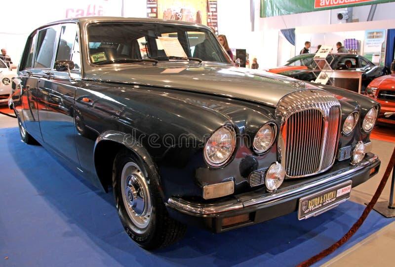 Retro- u. Exotica-Autoausstellung lizenzfreies stockfoto