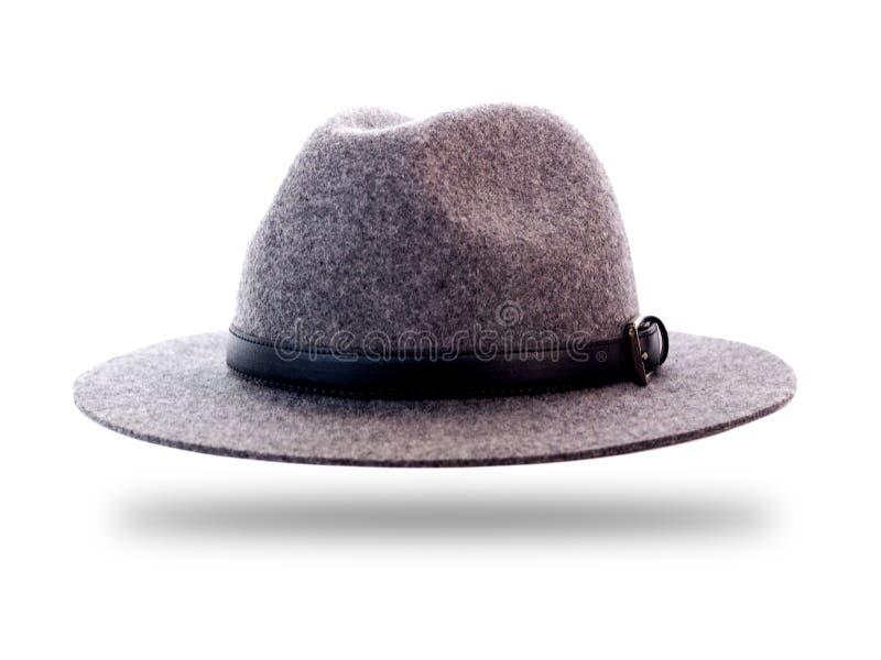 Retro uitstekende hoed van de mensenmanier stock afbeeldingen