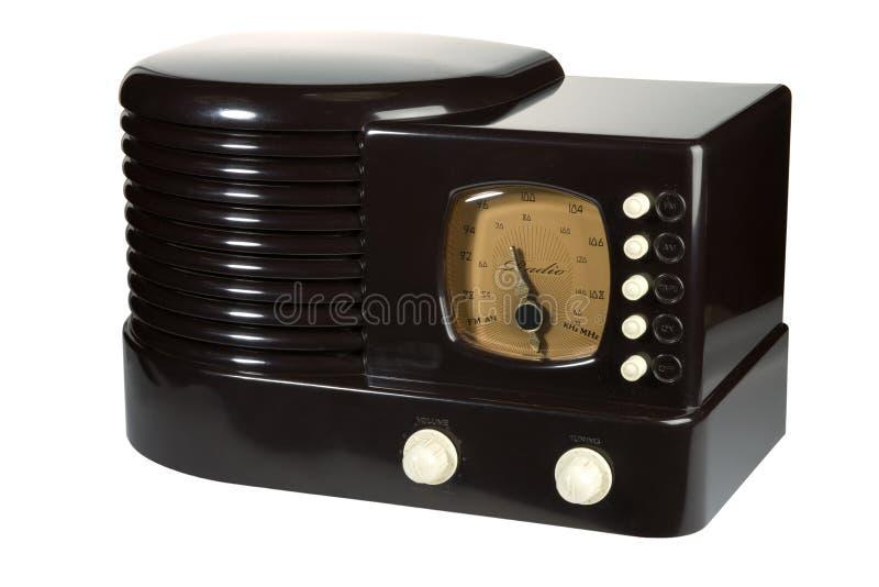 Retro Uitstekende Radio stock afbeelding