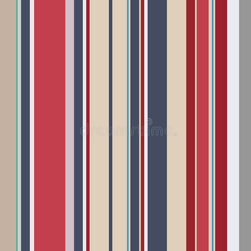 The Retro usa Color fashion style seamless stripes pattern. Abst stock images