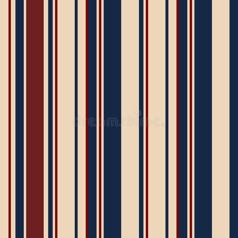 Retro usa Color fashion style seamless stripes pattern. Abstract royalty free stock image