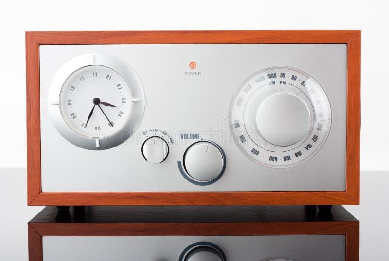 retro utformad stämmare för radio royaltyfri fotografi