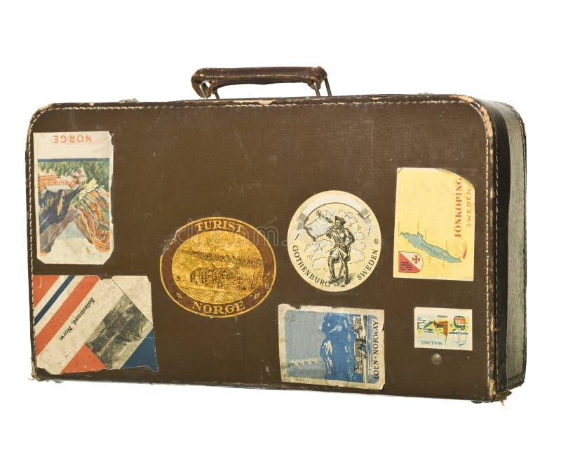 Retro valigia fotografia stock libera da diritti