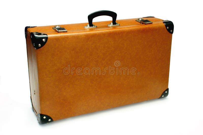 Retro valigia fotografie stock