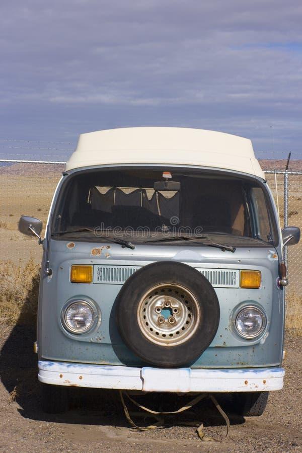 Retro Van in Utah stock image