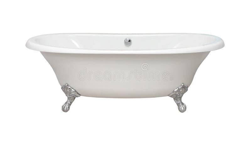Retro vasca da bagno fotografie stock libere da diritti