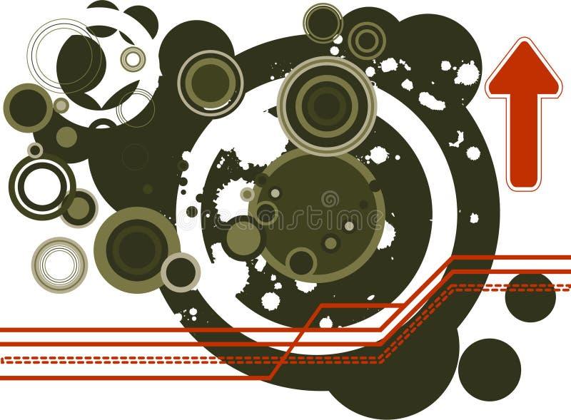 Retro vector stock illustration