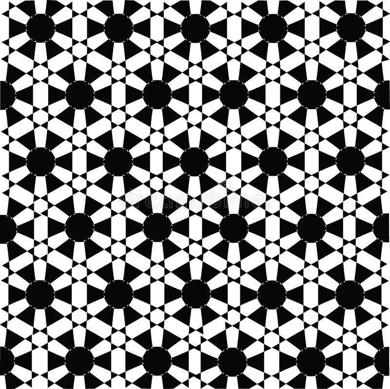 Retro vector pattern,seamless stock photo