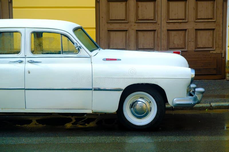 Retro veicolo di Noname, di nuovo all'URSS fotografia stock libera da diritti