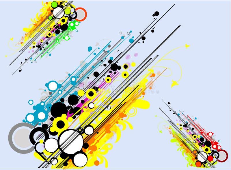 retro vektor för design royaltyfri illustrationer