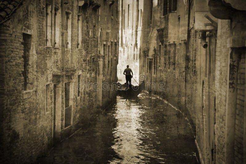 Retro Venice stock image