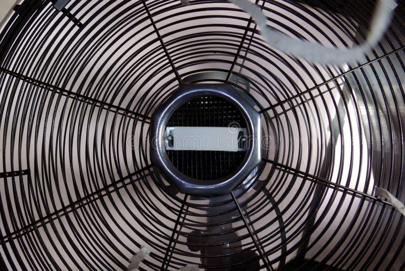 Retro Ventilator over wit royalty-vrije stock foto's