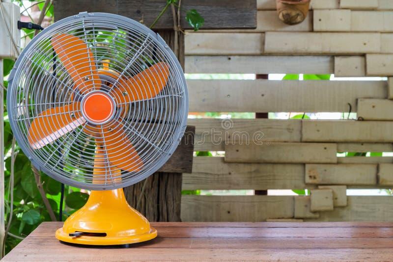 Retro ventilatore immagine stock