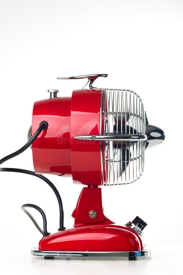 Retro ventilatore da tavolo immagini stock libere da diritti