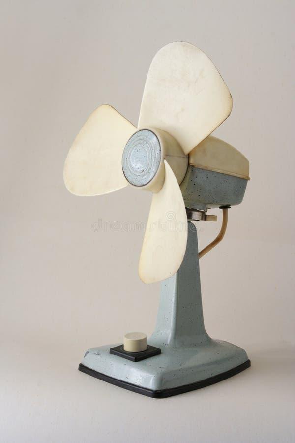 Retro ventilatore di stile immagini stock