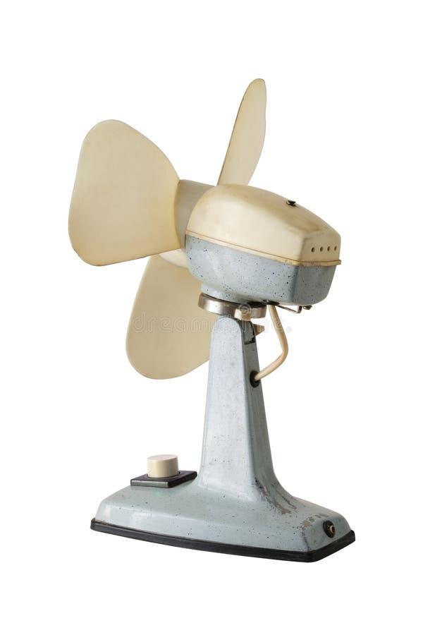 Retro ventilatore di stile fotografia stock libera da diritti