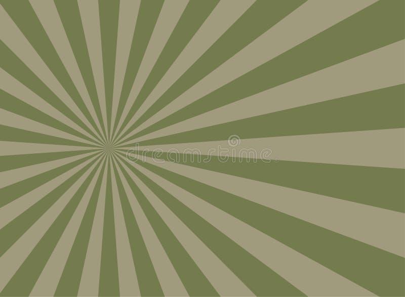 Retro- verblaßter Schmutzhintergrund des Sonnenlichts schmutziger grüner und beige Farbexplosionshintergrund lizenzfreie stockfotografie