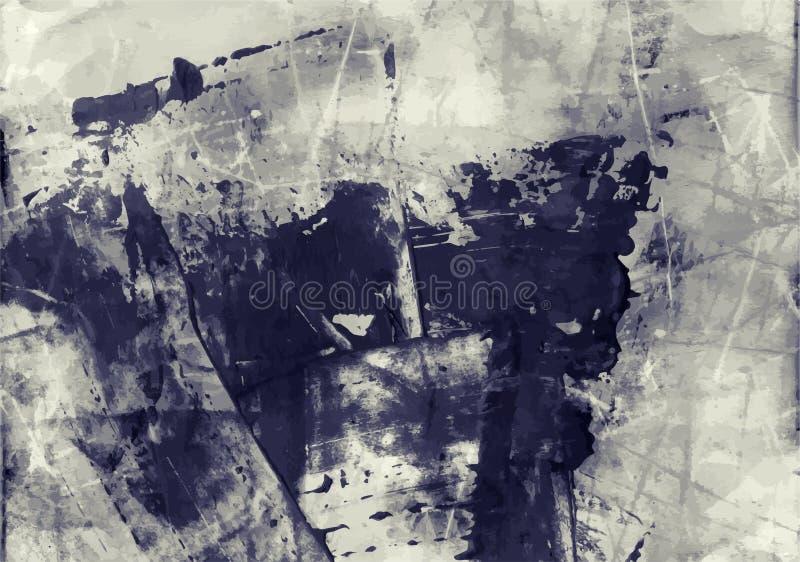 Retro Verontruste Textuur Grunge de Vector Achtergrond van Art Style Editable Vintage Style De grote Achtergrond van het Ontwerpe vector illustratie