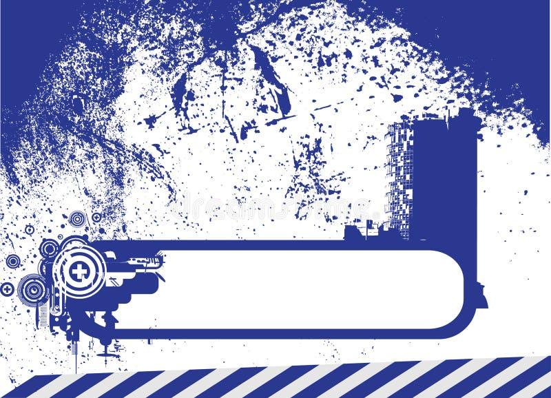 Retro Vettore Del Blocco Per Grafici Immagine Stock