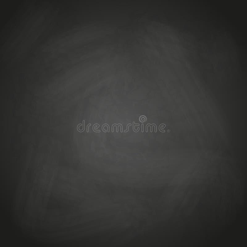 Retro vettore nero vuoto del fondo della lavagna illustrazione vettoriale