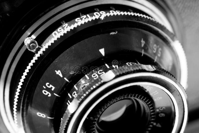 Retro viewfinder 35mm kamera obraz stock