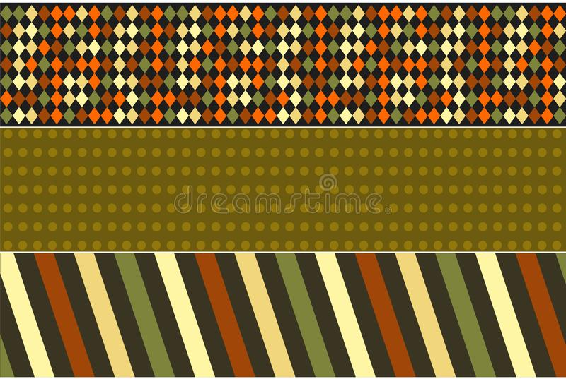Retro and vintage design banners. Bright and colorful banner design. vector illustration