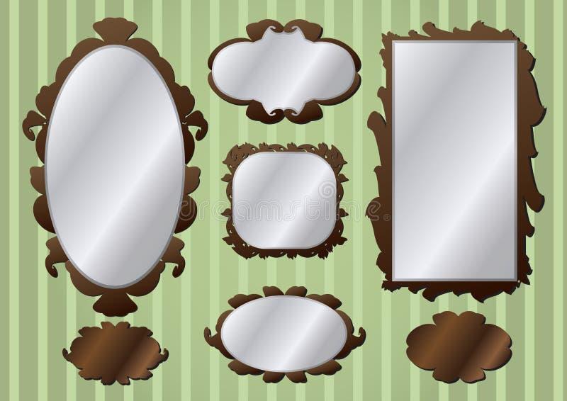 Download Retro vintage frames stock vector. Image of decorative - 24389976
