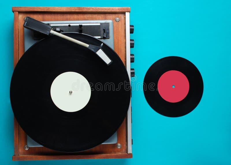 Retro vinyl record player, lp record stock photos