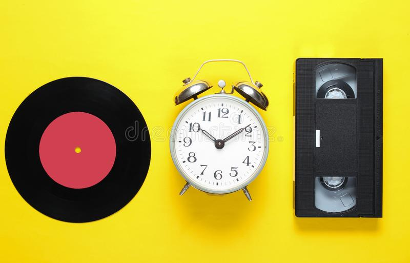 Retro vinyl record royalty free stock image