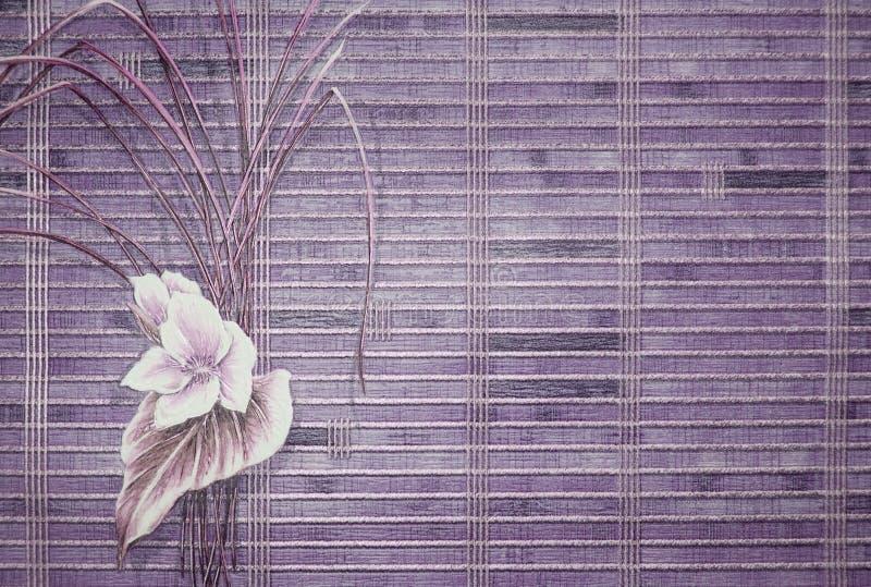 Retro wallpaper royalty free stock image