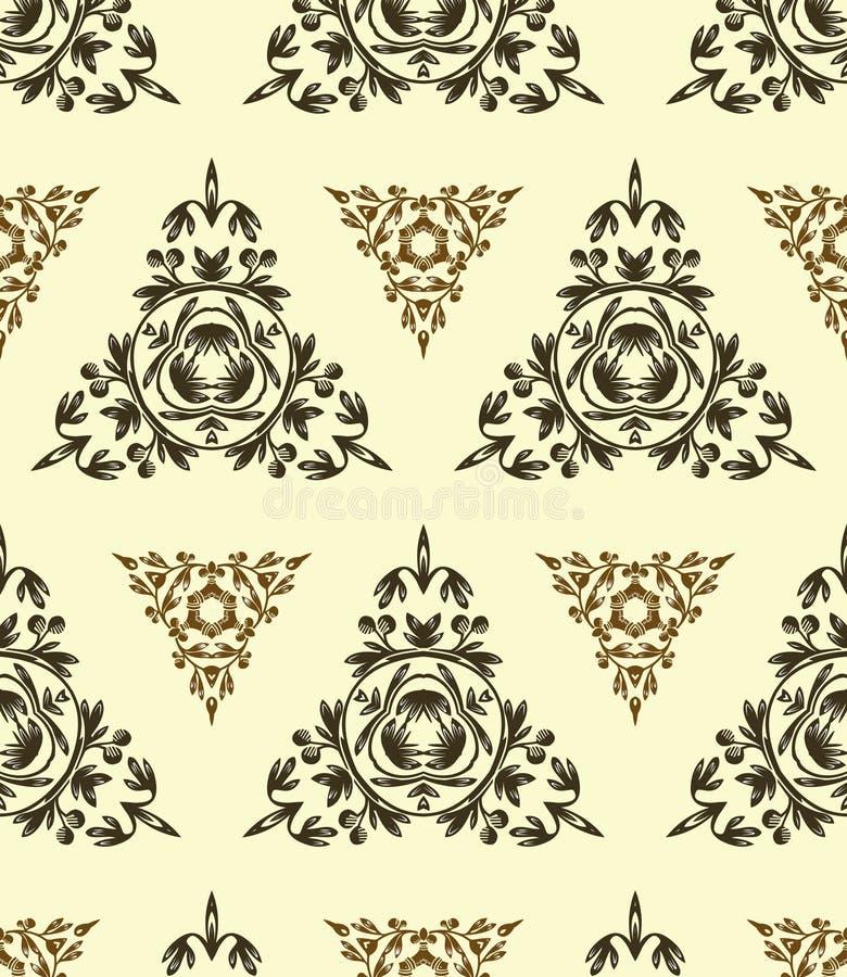Download Retro wallpaper stock vector. Illustration of foliage - 25313593