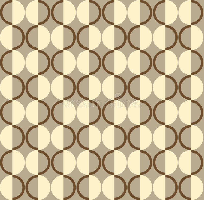 Retro Wallpaper Stock Vector Illustration Of Beige Classic