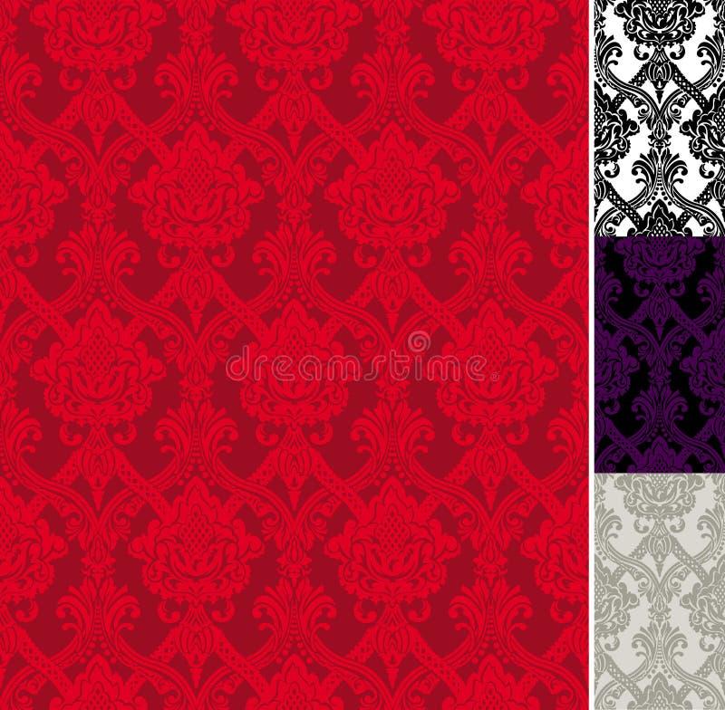 Retro wallpaper vector illustration