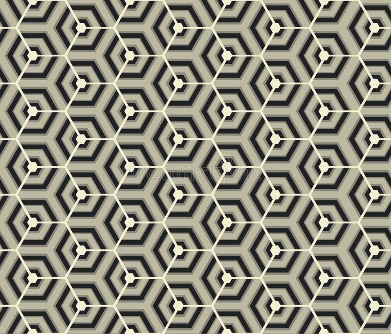 Retro wallpaper - Vintage vector pattern, black and white. Retro wallpaper - Vintage black and white - 2d vector pattern vector illustration