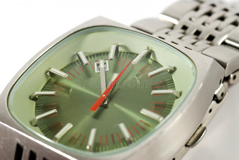 Retro Watch - the eleventh hour royalty free stock images