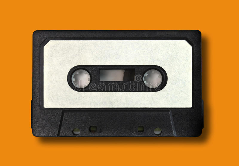 Retro- Weinlese-Audiokassetten-Band lizenzfreie stockfotografie