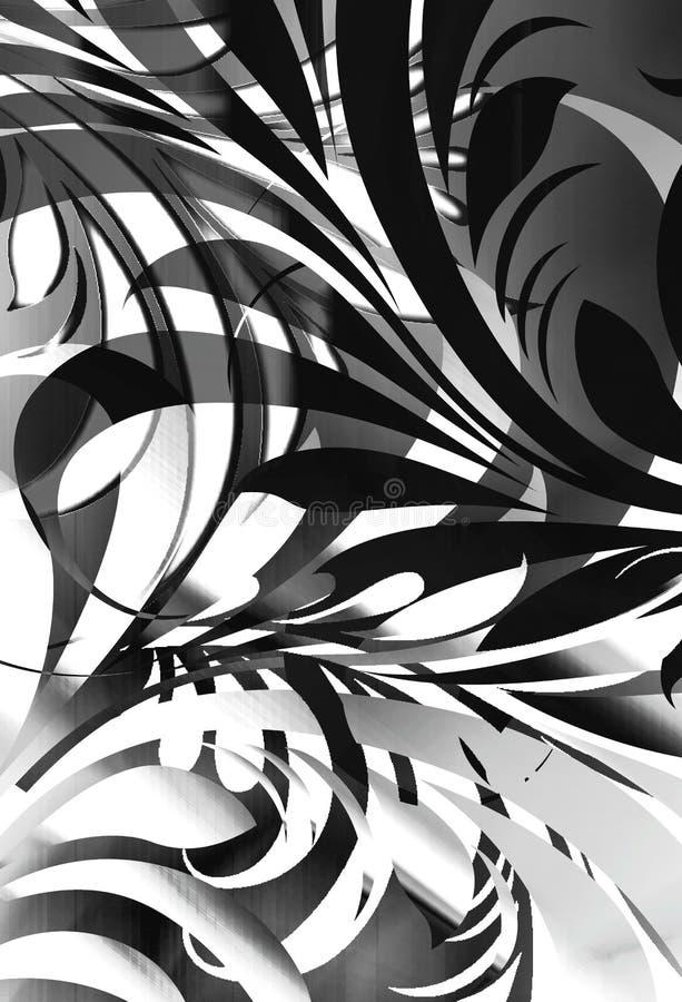 Retro wildernis vector illustratie