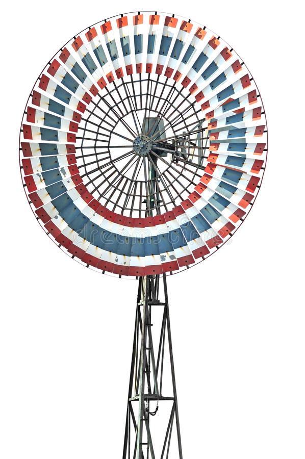 Download Retro Windmill stock image. Image of conservation, pump - 26782561