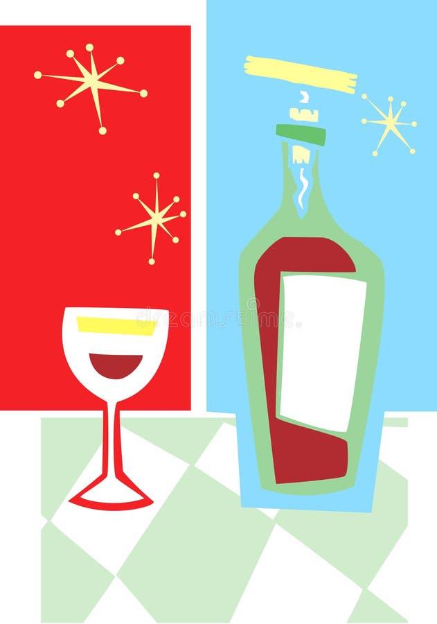 Free Retro Wine And Glass 3 Stock Photos - 10604303