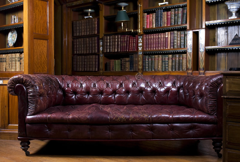 Retro- Wohnzimmer lizenzfreies stockfoto