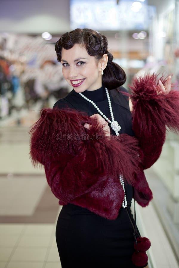Download Retro Woman Portrait Stock Images - Image: 22850874